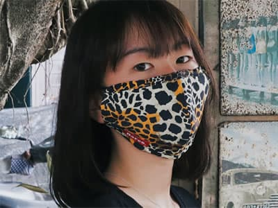 KEAN007 #202 Leopard multi-purposes sports mask cover